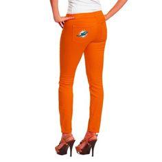 Women's Miami Dolphins Cutter & Buck Orange DryTec Evolve Half-Zip Jacket