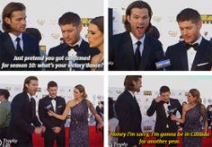 [Gifs] Jared and Jensen and their craziness Choice Awards 2014 #CCAs #J2