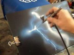 ▶ Craig Fraser, Automotive Airbrushing, Cheap Tricks and Special Effects - YouTube