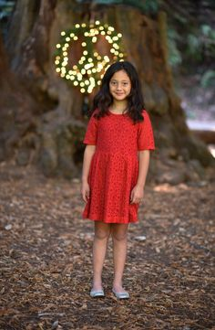 Peek 'Reese' Dress (Toddler Girls, Little Girls & Big Girls)