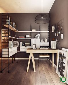 a charming eclectic home inspired by nordic design small office charming design small tables office office bedroom