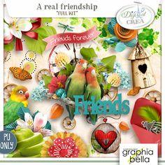 A real friendship (kit complet) par Graphia Bella