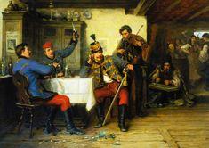 Austrian Empire, War Photography, Napoleonic Wars, 15th Century, World War I, Beautiful Words, History, Military, Painting