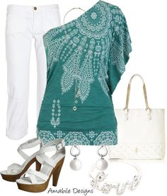 """""""Casual Comfy (day date wear or anytime wear)"""" by amabiledesigns on Marit Diva Fashion, Fashion 101, Fashion Outfits, Womens Fashion, Resort Casual, Passion For Fashion, Spring Summer Fashion, Style Me, Boho Style"""