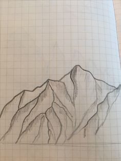 Sketch of Job's Peak to illustrate the concept.
