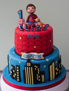 Spider-Baby Cake made by Cake Central Member Rohini