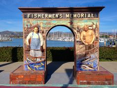 Fisherman's Memorial, Ventura Harbor, Channel Islands, CA  photo by Deana Rae McMillion