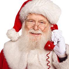 Suena el teléfono y Papa Noel te quiere entrevistar, ¿cómo reaccionarías?