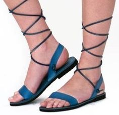 Strappy sandals by sandalishop