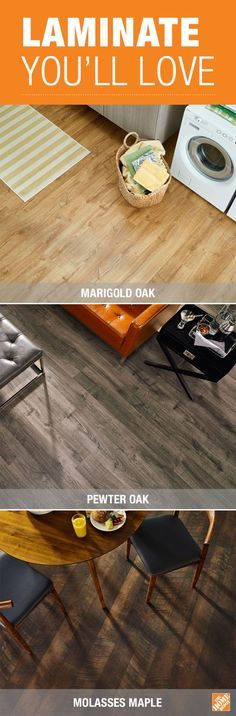 Water Resistant Laminate Wood Flooring The Home Depot