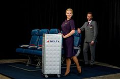 デルタ航空ザックポーゼンが手掛けた新ユニフォーム発表