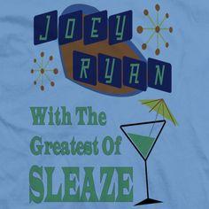 Greatest of Sleaze Joey Ryan, Logos, T Shirt, Supreme T Shirt, Tee Shirt, Logo, Tee
