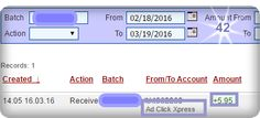 I am getting paid daily at ACX and here is proof of my latest withdrawal. This is not a scam and I love making money online with Ad Click Xpress. Online income is possible with ACX and here is my withdrawal proof No.42! I love making money online with Ad Click Xpress because this program is definitely NOT A SCAM! WORK FROM HOME less than 10 minutes and I manage to cover my LOW SALARY INCOME.