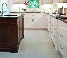 Porcelain kitchen floor tile