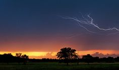 Summer evening thunderstorm ~ by Eilish Palmer on Capture Arkansas