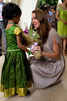 Pin for Later: 38 Snaps of Kate Middleton With Little Girls That Are Sure to…