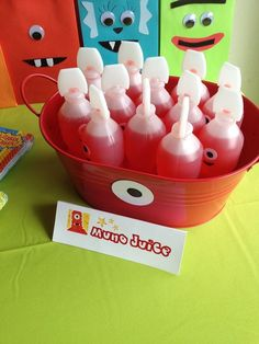 Yo Gabba Gabba! / Birthday  I made these for my daughters Birthday party! Very easy to make & they were a big hit :) P.H.