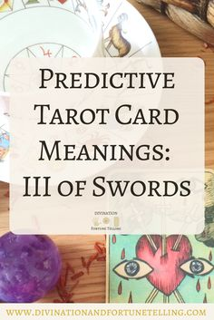 In a Tarot card reading, The Three of Swords in a spread can be a symbol of heartache and separation. This post includes a vintage and modern fortune telling meanings of The 3 of Swords, ideal for the advanced reader or those just learning the cards. These interpretations can be used with any of the decks (Rider Waite, Marseilles etc). Cards used in this post are The Dame Darcy's Mermaid Tarot Deck.
