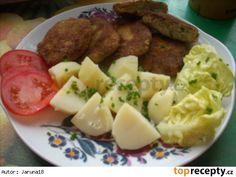 Potato Salad, Mashed Potatoes, Meat, Chicken, Ethnic Recipes, Food, Whipped Potatoes, Smash Potatoes, Essen