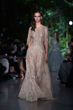 Elie Saab Paris Haute Couture Fashion Week S/S 2015 Runway