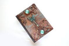 Journal of Hope. Steampunk sketchbook  Secret by MyMandarinDucky, $127.00
