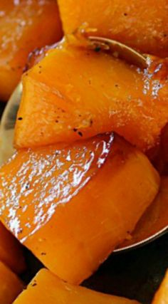 Caramelized Butternut Squash ~ Easy to make... With a little sweet and a little spice, this butternut squash recipe will knock your socks off!