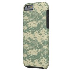 Military camouflage textile patterns tough iPhone 6 case