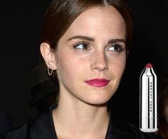 Gallery: 6 Boss-Lady Appropriate Pink Lipsticks - Emma Watson - PINK BERRY Marc Jacobs Beauty Kiss Pop Lip Color Stick in Pop, $35, sephora.com - http://www.flare.com/beauty/lipstick-product-picks/
