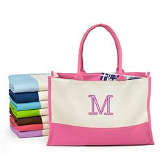 Colorblock Tote as bridesmaid gifts for the morning of the wedding for only $5.99.... Maybe with wedding survival kits inside?? <3