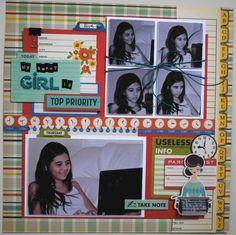 my+sweet+girl+is+top+priority - Scrapbook.com
