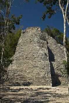 Nohoch Mul Pyramid, Coba, Mexico