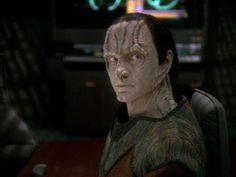 Garak~Star Trek: Deep Space Nine. This was a very intriguing character, you never knew what he was up to but he always did the right thing.