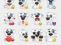 Spotty Stickers Set | Telegram Stickers