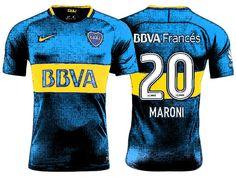Boca Juniors Jersey Shirt For Cheap gonzalo maroni 17-18 Home Kit