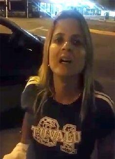 'Voz de prisão você não vai me dar nunca, meu bem', diz mulher para PM - Rio - O Dia