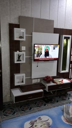 Lcd Unit Design, Lcd Wall Design, Modern Tv Unit Designs, Wall Unit Designs, Modern Tv Wall Units, Living Room Tv Unit Designs, Door Design, Tv Unit Furniture Design, Tv Unit Interior Design