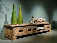 Driftwood tv-meubel Corrado 3 laden - ROBUUSTE TAFELS! Direct uit voorraad of geheel op maat >>