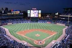 Lay in center field and stare aimlessly at the sky above me at any MLB Park but preferably Turner Field :)