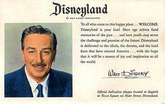 Disneyland Welcome #Walt_Disney #Disney #Disneyland