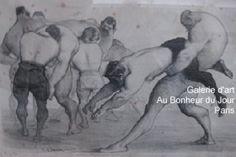 Le Boudoir - Lithographie