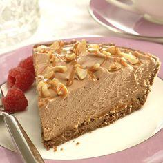 Easy Peanut Butter Chocolate Cheesecake Pie