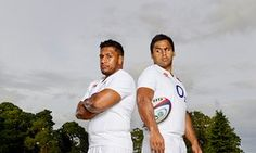 Mako left, and Billy Vunipola. Mako is a year older but has only just established himself in the England side at loosehead prop, while Billy is the first-choice No8.