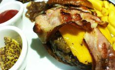 Hamburguesa de carne de buey Carne, Food, Gastronomia, Gourmet, Hamburgers, Dishes, Restaurants, Ox, Oblivion