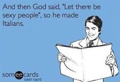 Ha! We like to think so... (: #italiansrule #jokes