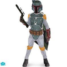Disfraz de Boba Fett Star Wars para niño