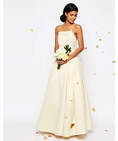 One of the most exciting things that happened in 2016 was the launch of ASOS Bridal. They offer a range of wedding dresses for such reasonable prices and they are perfect for fashionable brides on a budget. This particular dress is a bargain at £180 – and there's plenty more where that came from.