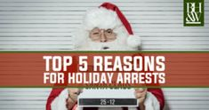 Top 5 Reasons for Arrests During the Christmas Holiday Season Christmas Holidays, Christmas Ornaments, Fort Worth, Seasons, Holiday Decor, Top, Christmas Vacation, Spinning Top, Christmas Jewelry
