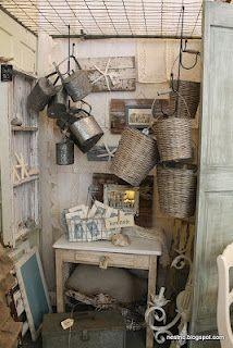 NC blog full of vintage, shabby chic, nautical, home ideas -- Nest