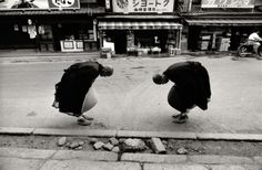 Rene Burri 'Two Monks, Kyoto, Japan' (1961)