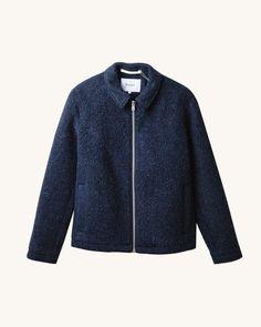 Elliot Melange Wool Fleece